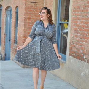 Karina Dresses Faux Wrap Dress